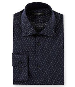 John-Varvatos-Star-USA-Mens-Long-Sleeve-Tic-Weave-Dress-Shirt-Regular-Fit-Indigo