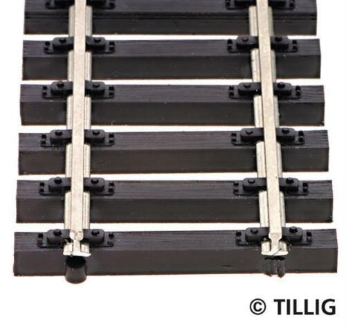 H0 Länge 890 mm Tillig 85125 Holzschwellenflexgleis