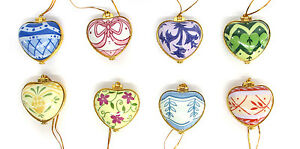 Set-of-8-Heartfelt-Blessings-Ornaments-by-Valerie-Parr-Hill-NEW