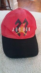 9ff16bf5e01 Vintage 90s Nike Air Jordan 23 SnapBack Hat Cap Hip Hop (293)