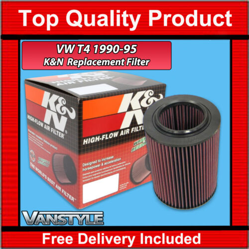 VW T4 TRANSPORTER 90-95 K/&N REPLACEMENT PANEL PERFORMANCE AIR FILTER CARAVELLE