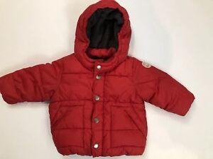 146929beda13 Baby Gap boys warmest jacket Puffer coat winter 12-18 Months Red ...