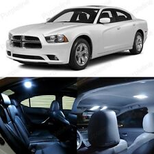 14 x Ultra White LED Interior Light Package Kit For Dodge Charger 2011 - 2014