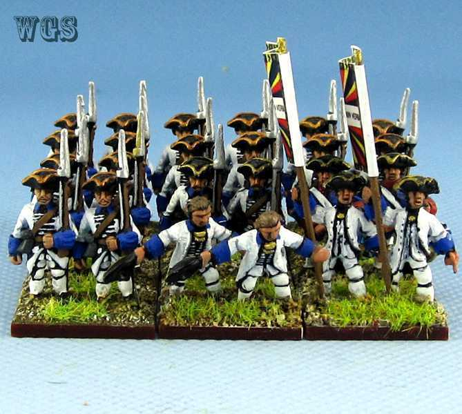 15mm Syw Seven Years War un Pintado francés 1667 16th Dauphin Fa8