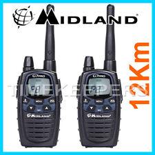 12Km Midland G7 PRO Dual Band Walkie Talkie Two Way PMR 446 Radio Licence Free