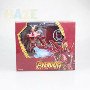 S-H-Figuarts-Avengers-Infinity-War-Iron-Man-MK50-Nano-Weapon-Action-Figure-Set