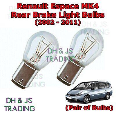 Renault Modus White LED Superlux Side Light Beam Bulbs Pair Upgrade