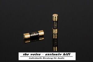 Hifi Tuning Sicherung - Supreme³-Kupfer  jede Größe 5x20 mm  Cardas Copper Fuse