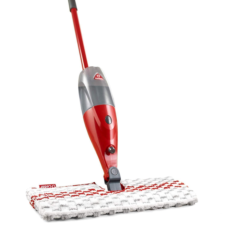 New Best Hardwood Floor Cleaner Spray Mop Microfiber O Cedar