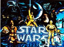 Data East Star Wars Pinball Gabinete Luz Azul Mod