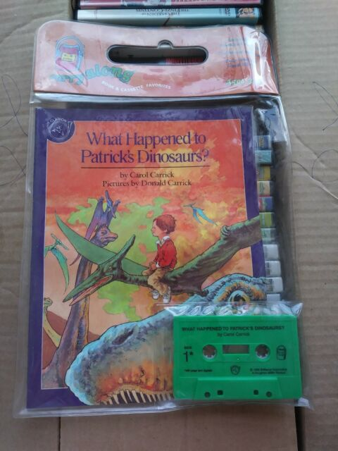 Carry-Along Book and Cassette: What Happened to Patrick's Dinosaurs? Brand New