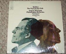 Ormandy Chookasian Lewis MAHLER Das Lied von der Erde Columbia MS 6946 LP