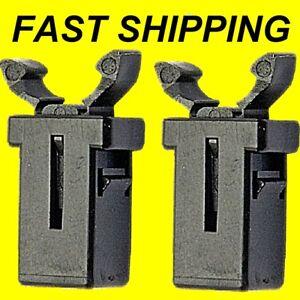 2x breaker control rv boat caravan motorhome convertor catch panel door cover