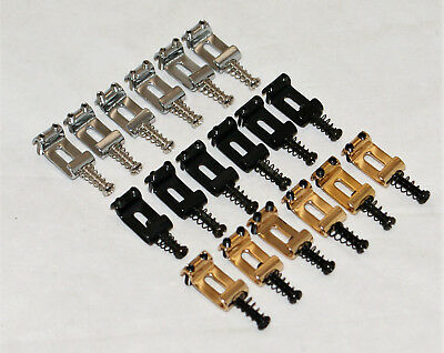 HIGH QUALITY RIGHT HANDED TREMOLO FOR FENDER STRATOCASTER ETC// VINT SADDLES GD