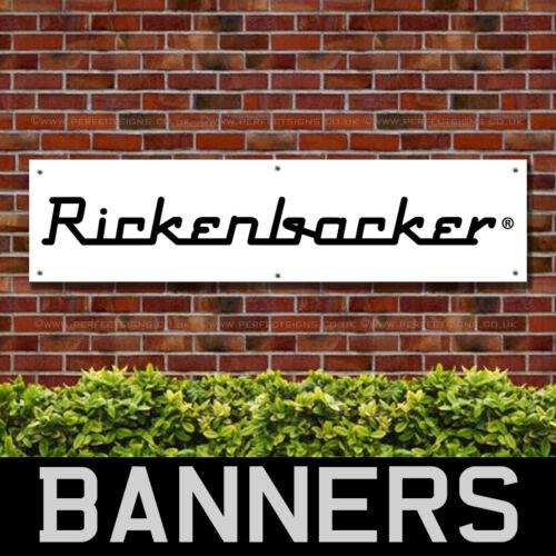 RICKENBACKER GUITARS PVC BANNER SHOWROOM PRINTING SIGNS BANPN00313