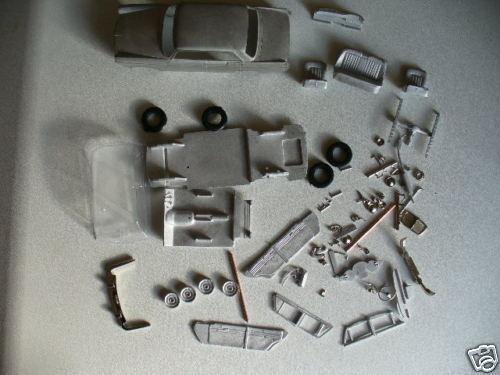 MG Magnette Mk IV 1 43rd scale white metal kit  by K & R Replicas