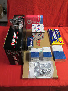 Buick 350 Performance Engine Rebuild Kit HI COMP Pistons