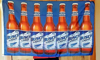 Busch Light Bud Beer Flag 3x5 Indoor Outdoor Banner man cave bar Christmas Gift