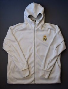 5+ 5 Real Madrid Football Anthem Zne Hoodie bq8748 Jacket Mens ... 70566b7bc8
