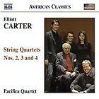 Elliott Carter - Carter: String Quartets Nos. 2, 3 & 4 (2009)