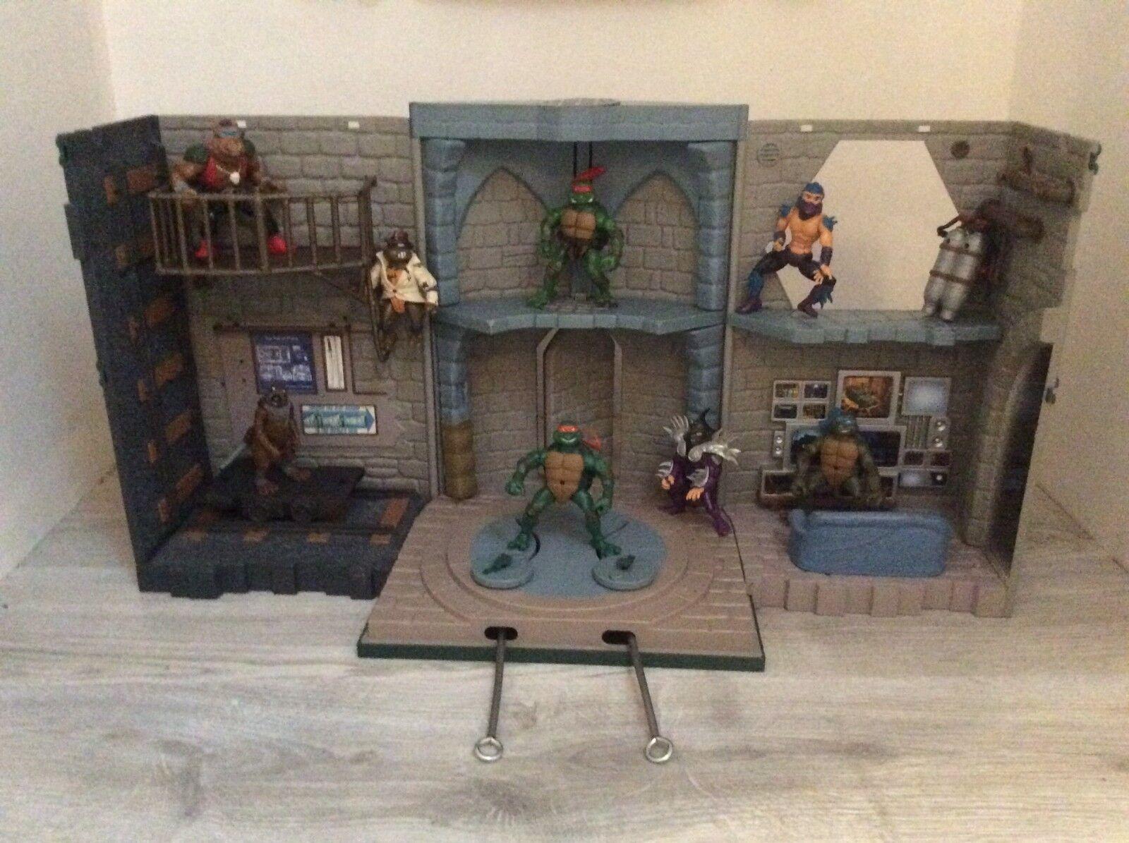Maison Repaire Tortues Ninja 2003 Mirage Studio Playmates Toys