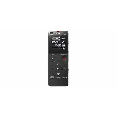 New Sony ICD-UX560F Digital Voice Recorder Built-in USB Black On Sale HK*1