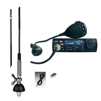 Handys & Kommunikation Cb Funk Set Team Ts6m & 60 Antenne T-27 Für Lkw Actros Tga Tgx Axor Man Top Chinesische Aromen Besitzen Cb-funkgeräte