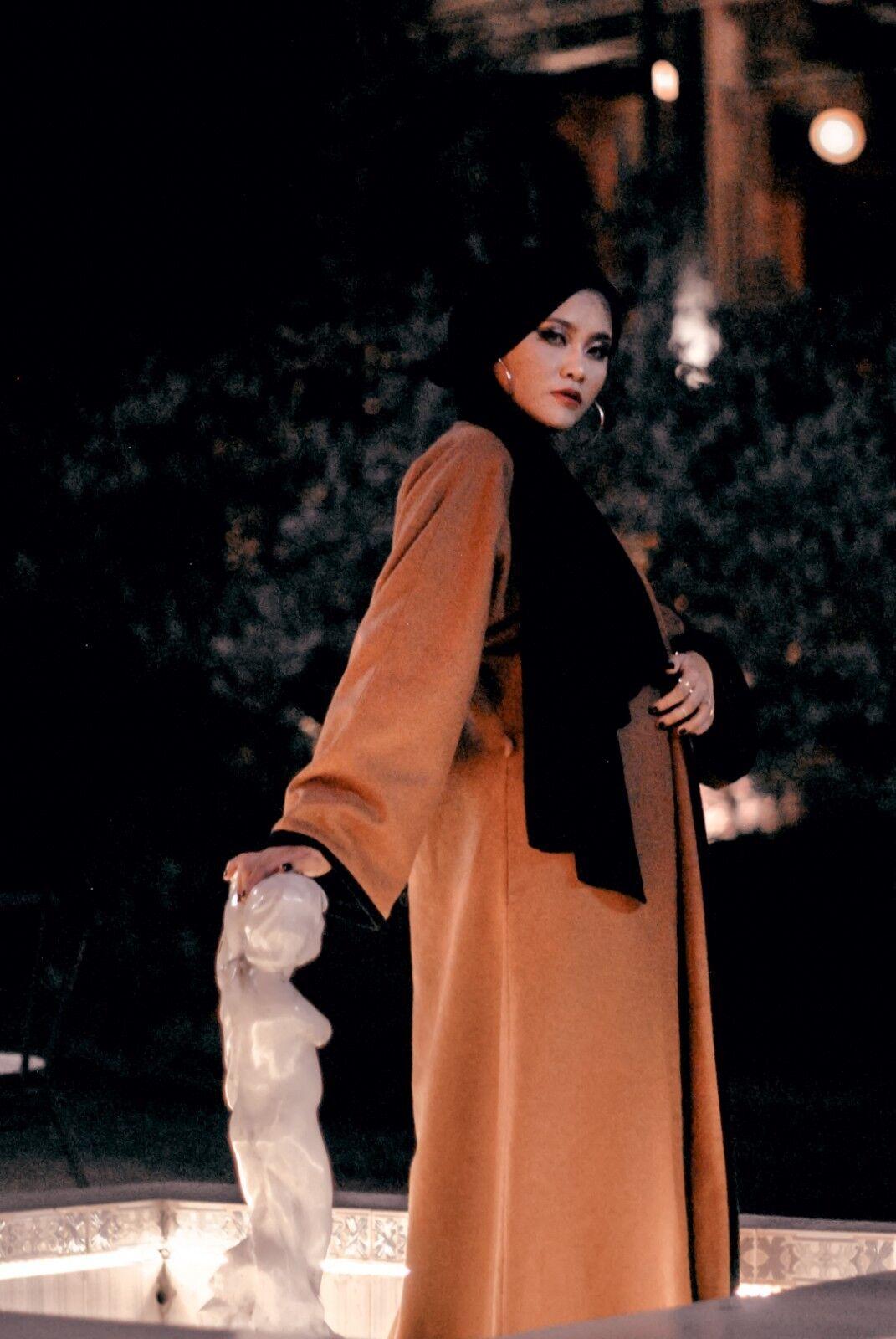 Abaya in Gray Warm Winter/Autumn
