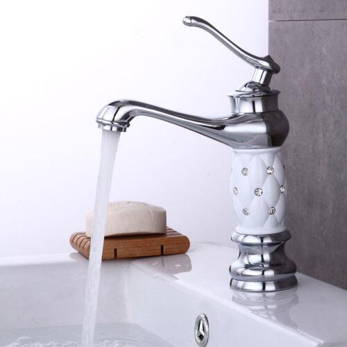 Badezimmer Wasserarmatur Keramik Messing Sinken Wasserhahn Küche EinGriff Tap DE