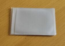 Clear Credit Card holder refill insert for card holder 6 pockets Landscape