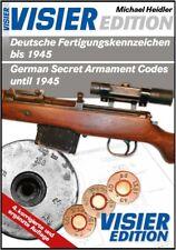 Neuauflage: Deutsche Fertigungskennzeichen bis 1945 (Codes) !!