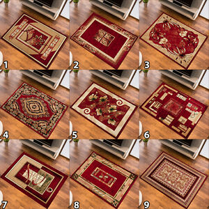 SMALL-MEDIUM-EXTRA-LARGE-RUG-DESIGNER-CARPET-TRADITIONAL-PATTERN-NEW-SOFT-RED