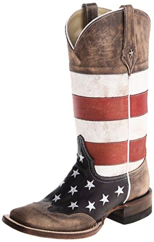 Roper Womens Merica Squared Western Boot- Pick SZ color.