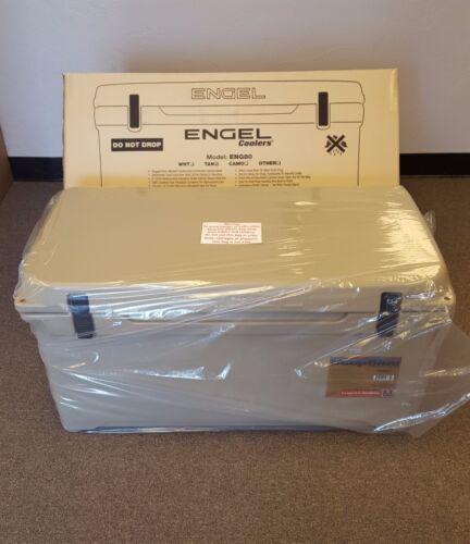 Engel Deep Blue 80Qt 80 Quart Tan DeepBlue Ice Chest Cooler ENG80T