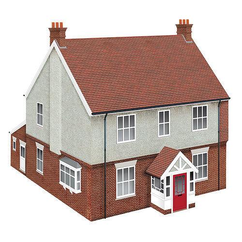HORNBY Skaledale R9804 Modern Detached House - OO Gauge Buildings