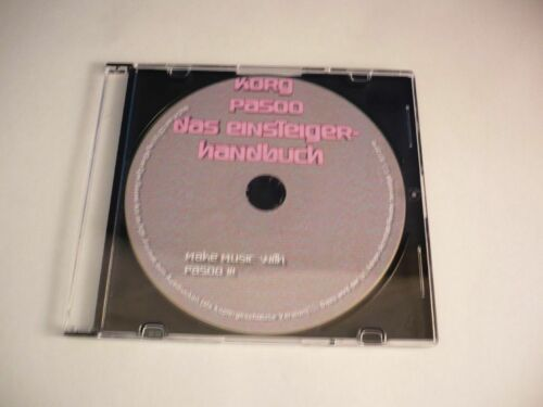 KORG PA 500 Das EINSTEIGERBUCH auf CD inkl Tips /& Tricks von Sound Art !!!