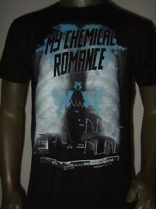 New Men's M-XXL Black My Chemical Romance MCR X-Ray Rib Cage Rock Band Tee Shirt