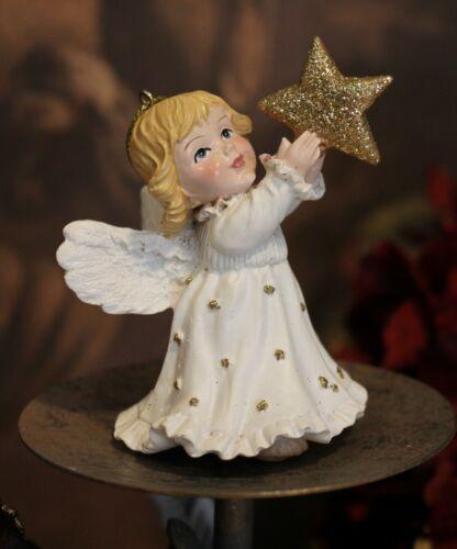 Mädchen Elfe Sternenmädchen Meander Figur Engel Stern Schutzengel 8,5cm NEU