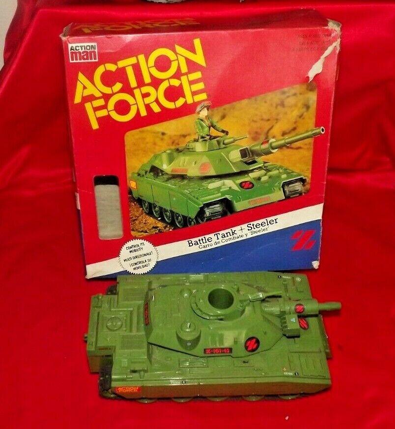Fuerza de acción Vintage Tanque de batalla de fuerza Z con caja