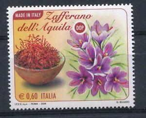 Italia-2008-Made-in-Italy-lo-Zafferano-dell-039-Aquila-MNH
