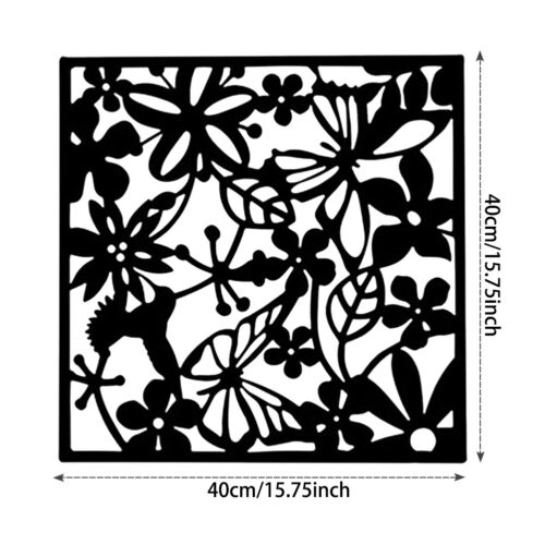 """4//8//12Pcs Room Divider Partition Hanging Screen Wall Decals DIY Home Decor 15/"""""""