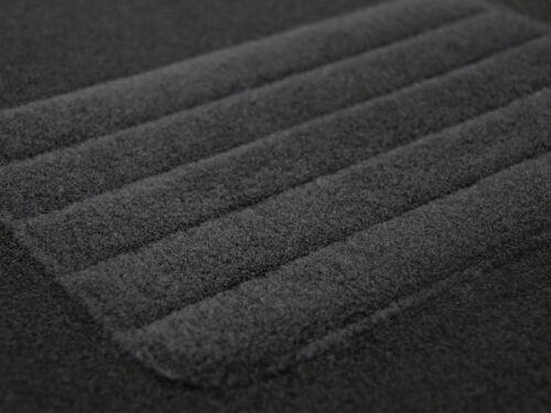 Velours Fußmatten Fiat Doblo ab Bj 2010 Mit Absatzschoner schwarz BASIC
