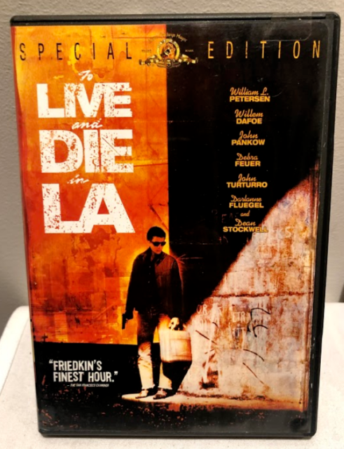 DVD - To Live And Die In L.A./To Live And Die In LA - REGION 1 - FREE POST #V1