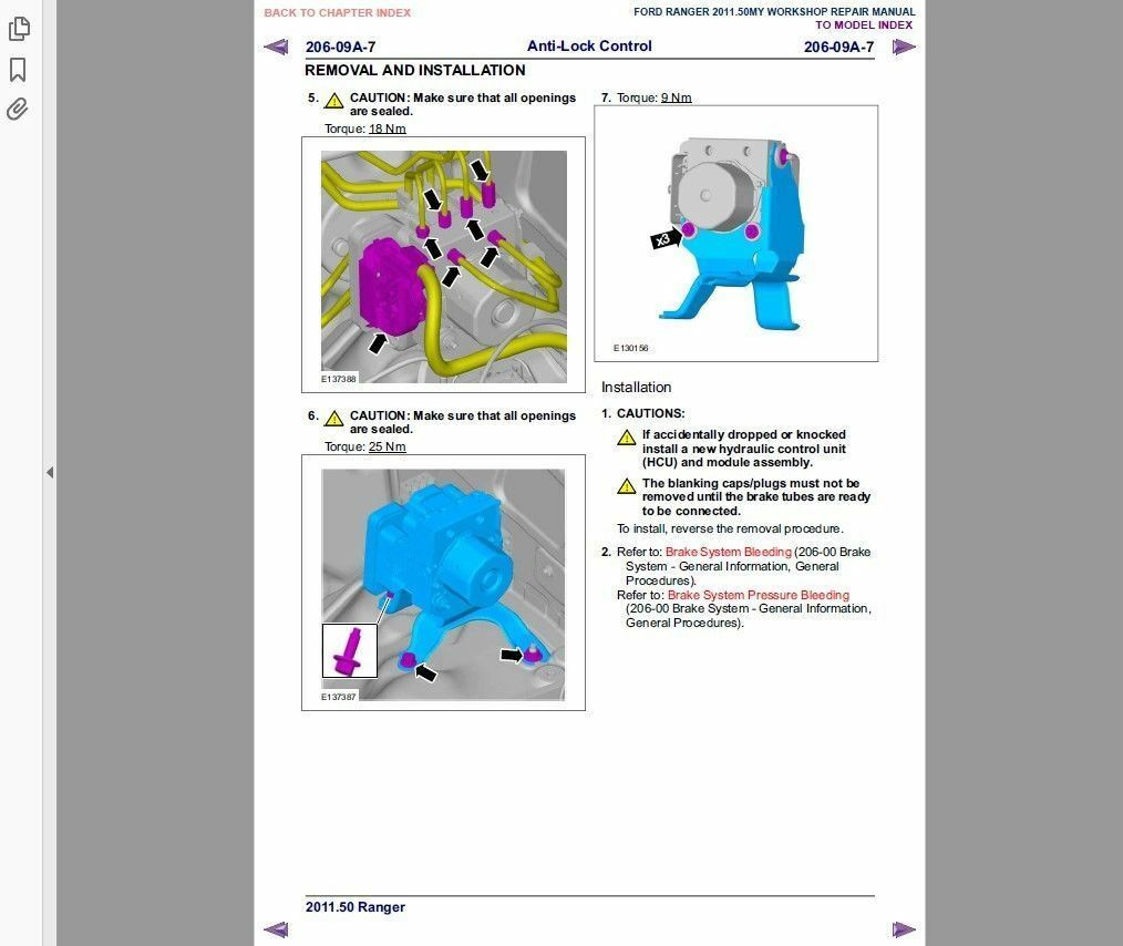 # Factory Workshop Service Repair Manual Ford Ranger 2011-2017 Wiring | eBay