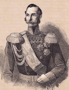 Portrait-XIXe-Alexandre-II-de-Russie-Russia-II-1860