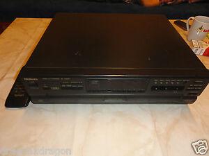 TECHNICS-sl-vm500-5-volte-Video-CD-changer-funziona-con-KL-difetti-leggere
