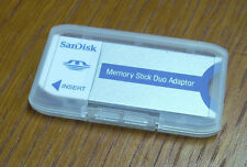 A dedicated adapter ( MSAC-M2 ) for SONY PRO DUO Memory