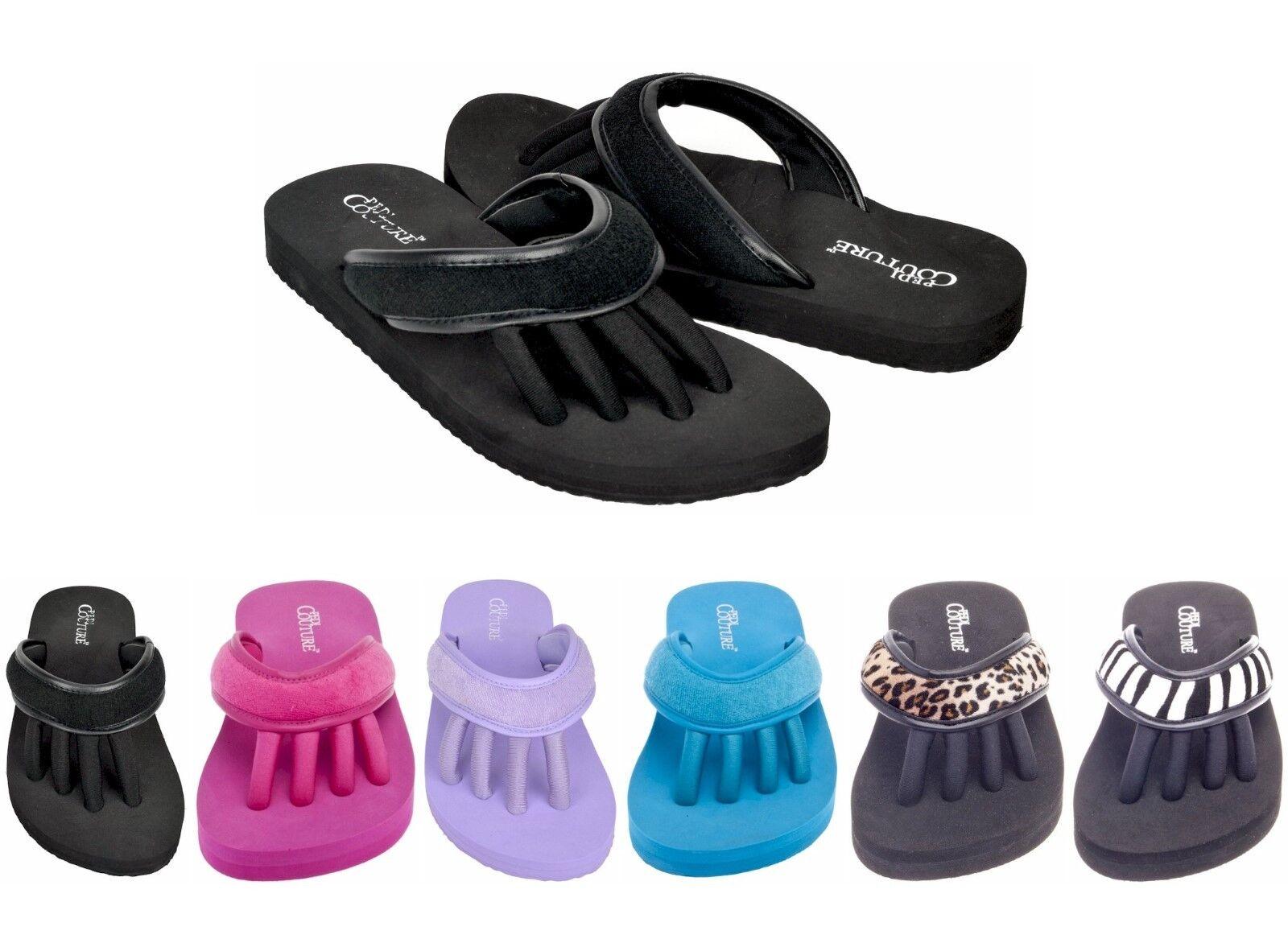 Women's Pedi Sandals Couture Pedicure Toe Separator Sandals Pedi Choose Size & Color 5b99c3