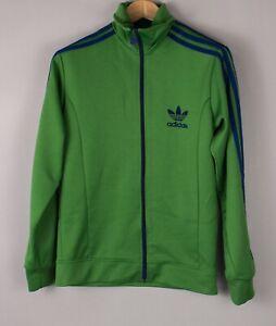 Adidas Herren Freizeit Reißverschluss Track Pullover Sweatshirt GRÖSSE S BCZ477