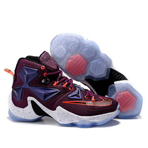 8e2409ade885 Nike Lebron James XIII 13 Mulberry Black Pure Platinum Vivid Purple ...